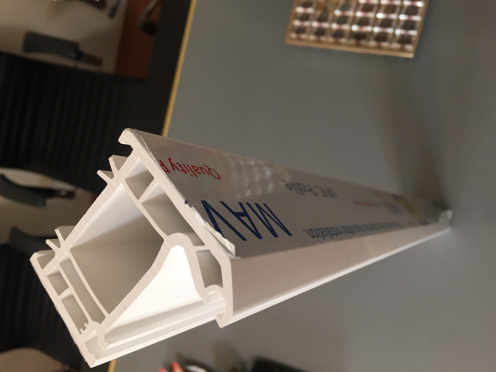 PVC corner Profile Extrusion Line