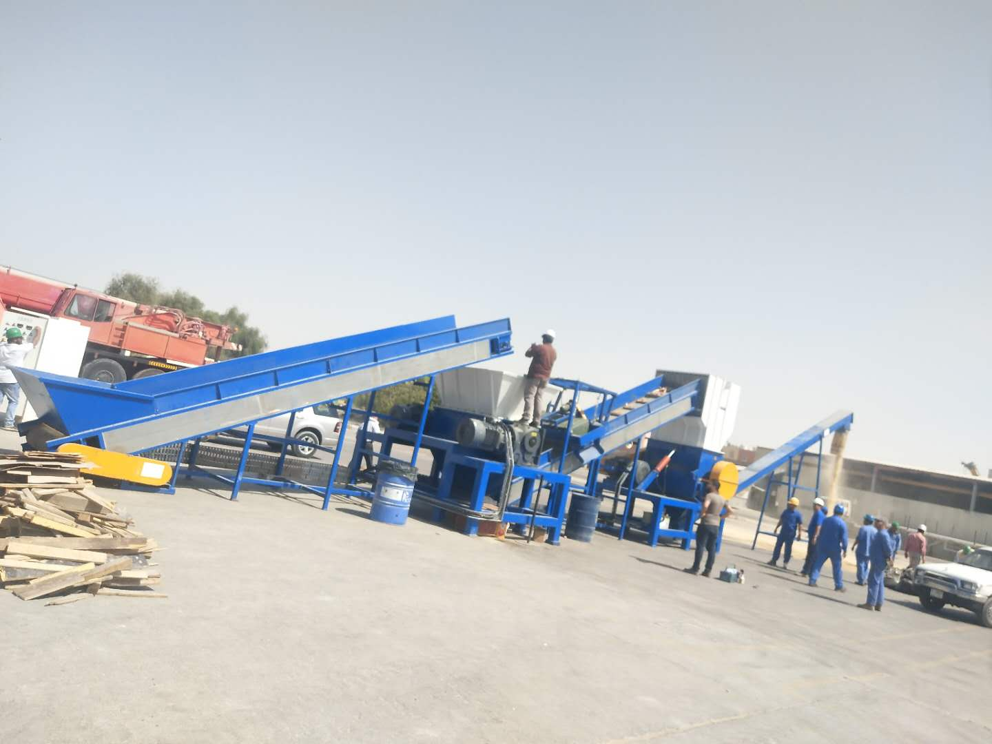 Double Shaft Scrap Shredder