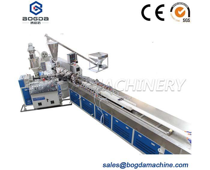 PVC Profile Production Extrusion Line