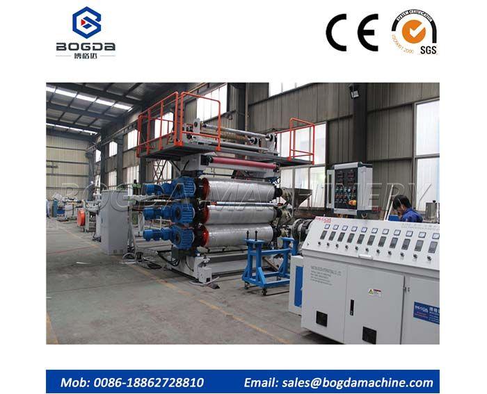 PVC Board Extrusion Line
