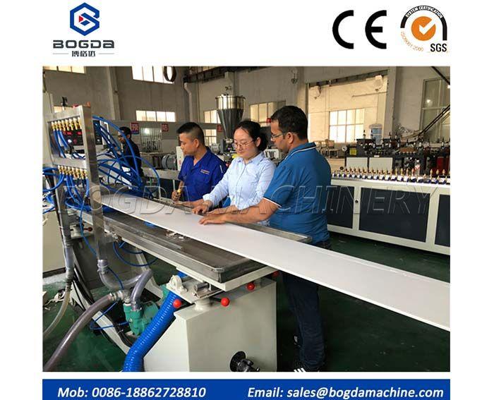 China PVC Ceiling Panel Making Machine