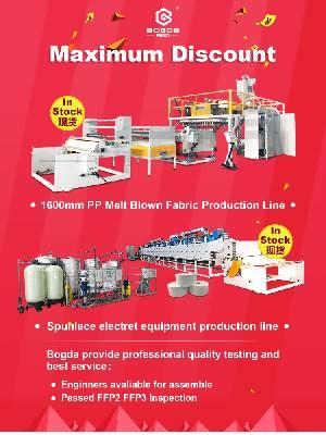 P2 P3 Standard PP Meltblown Fabric Making Machine