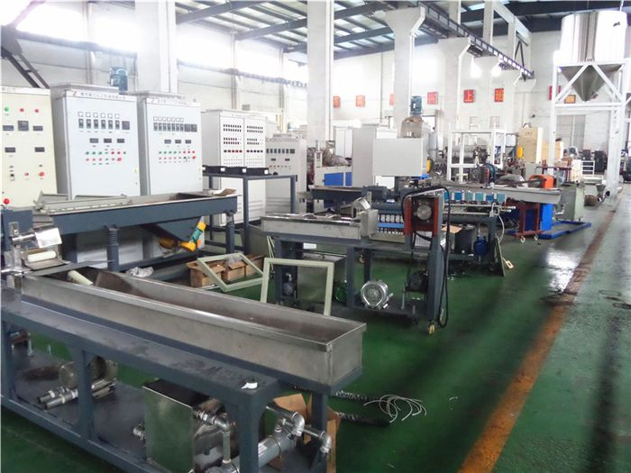SHJ Series Counter Rotating Twin-screw Extruder