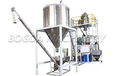Plastic Mixing Machine. Application For Plastic Powder Mixing, Inclde Nondust