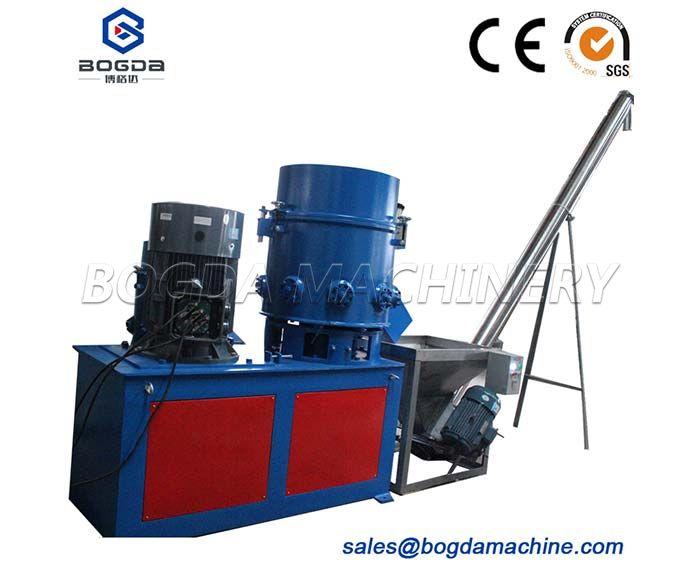 Recycling Used Plastic PP PE Film Agglomerator Densifier/Impact Machine