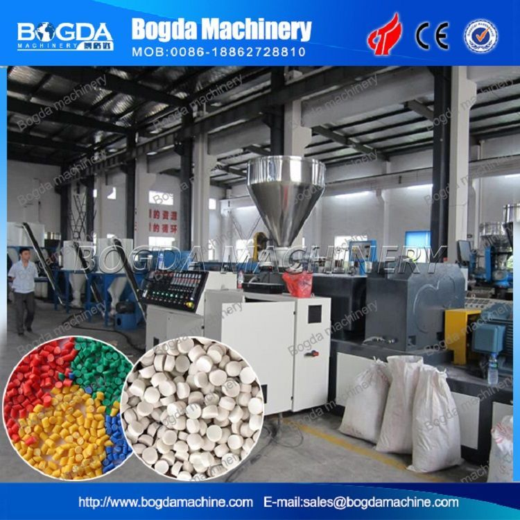 Recycled PVC Pelletizing Machine / PVC Hot Cut Pelletizing Line