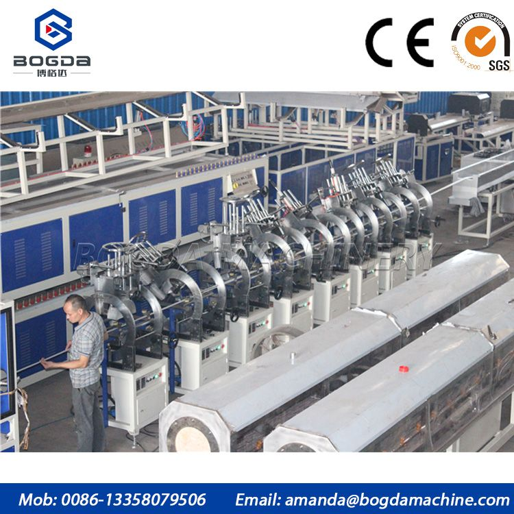 Hot Stamping Machine for PS foam picture frame making