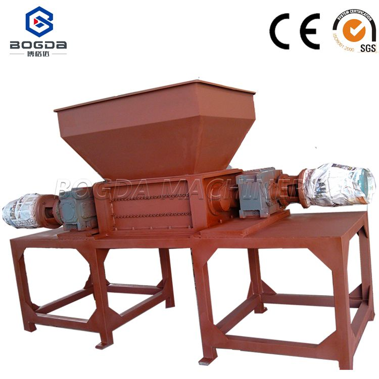 Double shaft shredder recycled plastic machine price