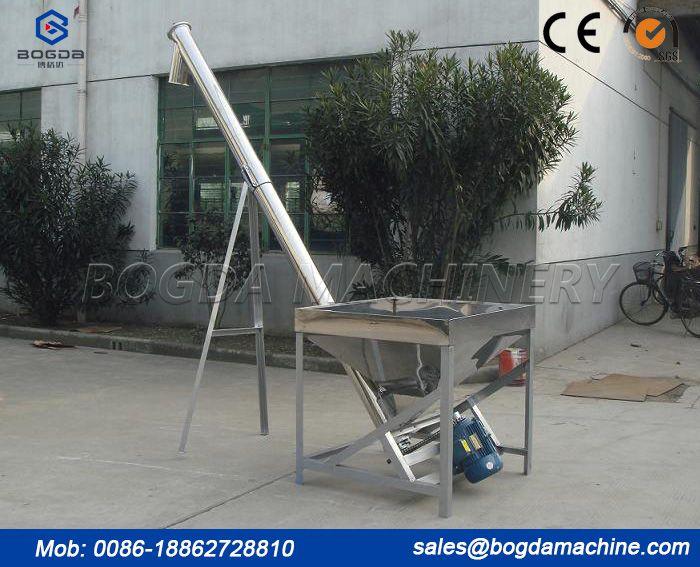 PVC Granules Screw Conveyor Machine With Reduction Box/Screw Feeders