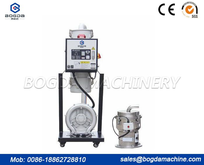 High Power Industrial Auto Loader Feeding for Extruder Plastic / Plastic Granules Feeding Loader