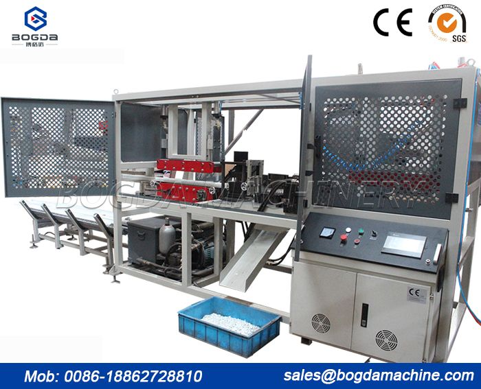 PVC Trunking Cable Punching Machine