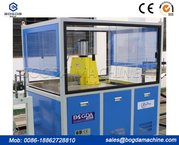 Plastic Pipe Profile Products Cutting Machine