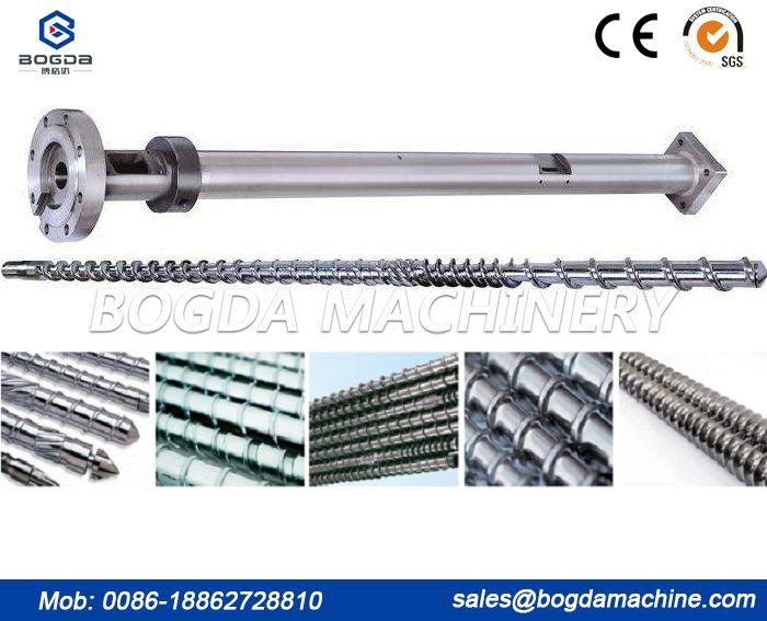 Screw for Plastic Extruder Single Screw Double Screw Parallel Screw