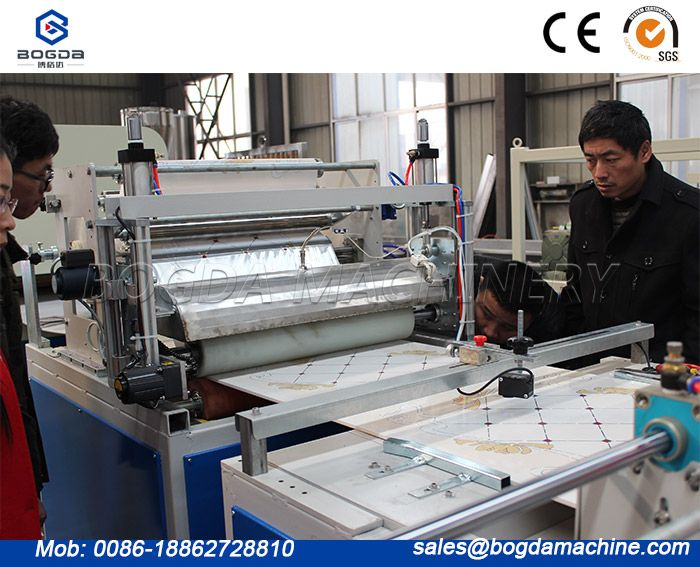 PVC Ceiling Panel Stamping Transfer Printing Machine