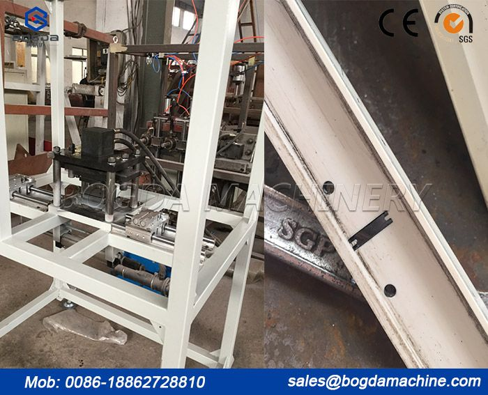PVC Ceiling Panel T Profile Punching Machine