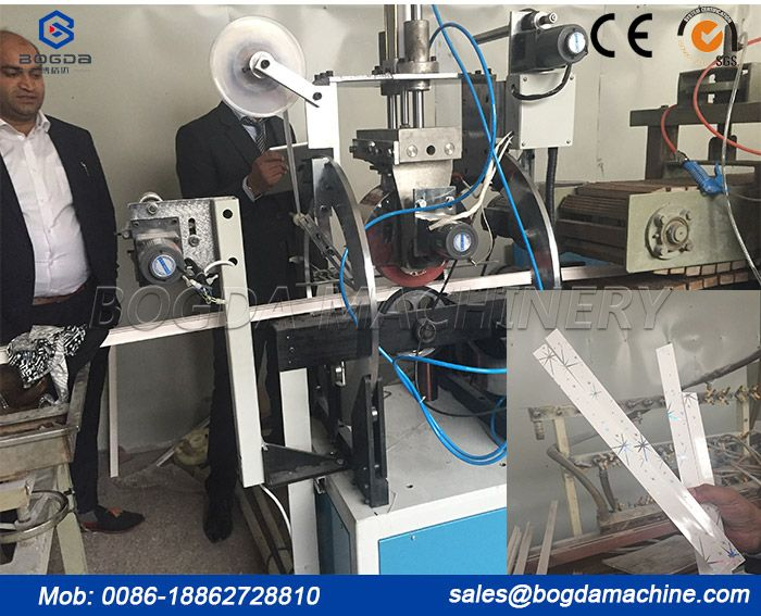PVC Ceiling Panel T Profile Hot Stamping Transfer Printing Machine