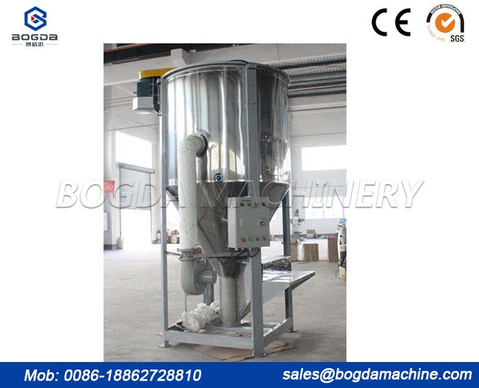 Plastic Heating Vertical Color Mixer/Blender Machine with Drying Mixing