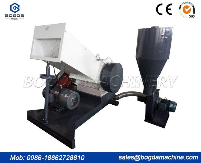 Horizontal Type Plastic Pipe Profile Crushing Machine