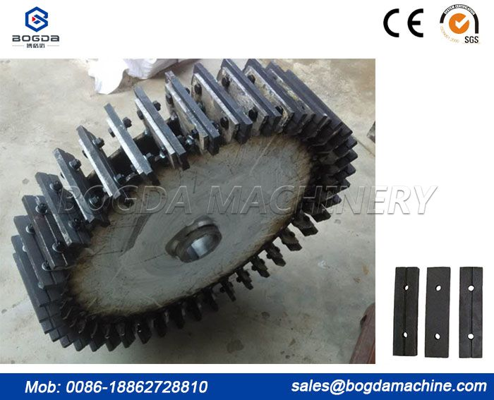 PVC pulverizer milling grinding knife