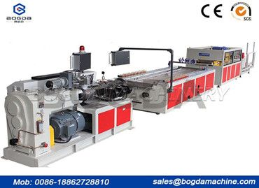 Development Of WPC Ceiling Panel Extruder Machine