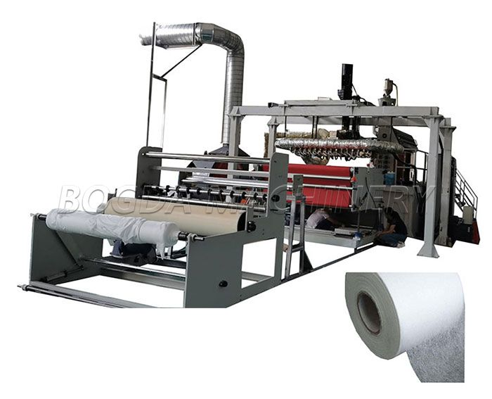 Hanger-type 1600mm Europen Standard FFP2 FFP3 KF4 Face Masks Meltblown Fabric Making Machine With Spunlace/Water Electret Treatment Equipment