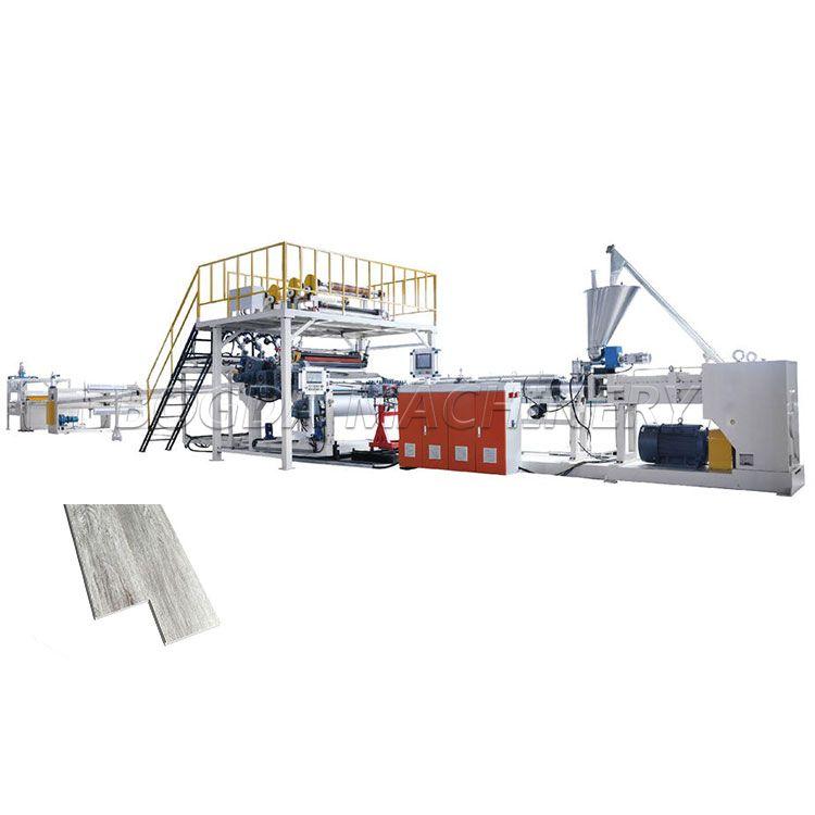 SPC floor extruder