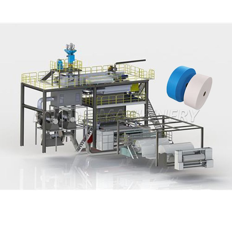 Single S Spunbonded Nonwoven Making Machine Price