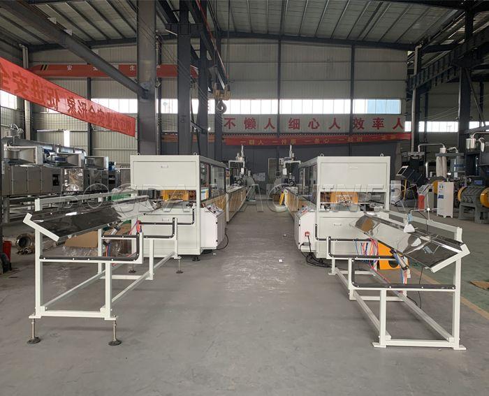 WPC PVC Profiles Plastic Panels Making Machine