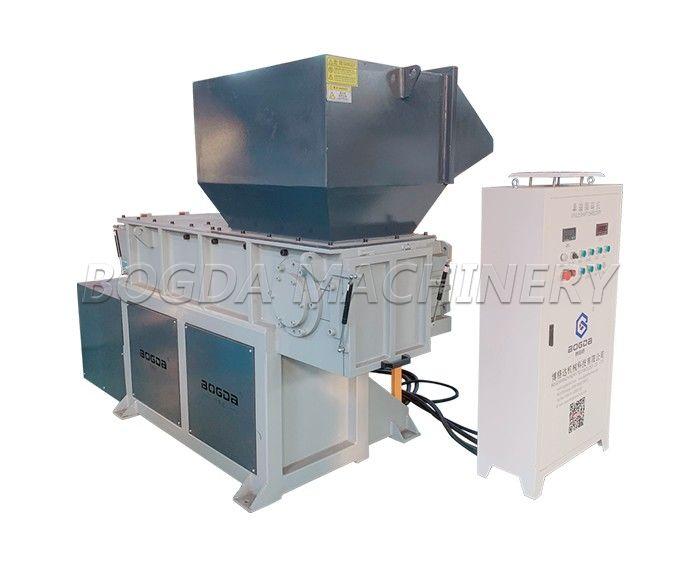 BOGDA Multifunctional Small Plastic Lump Waste Plastic Blocks Wood Pallet Meltal Single Shaft Shredder Machine