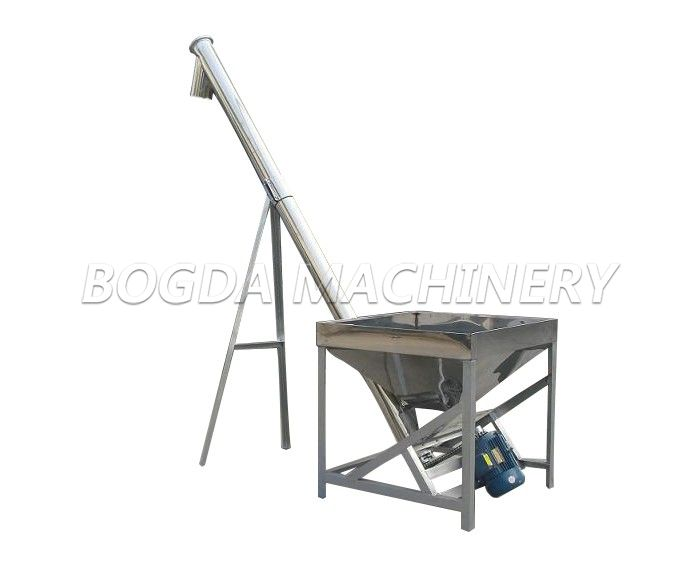 BOGDA Fully Automatic Vertical Stainless Steel Screw Loader
