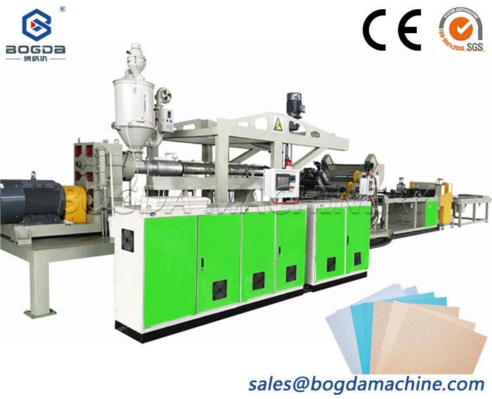 Medical Use Ultra-low Temperature Polycaprolactone PCL Sheet Extrusion Line