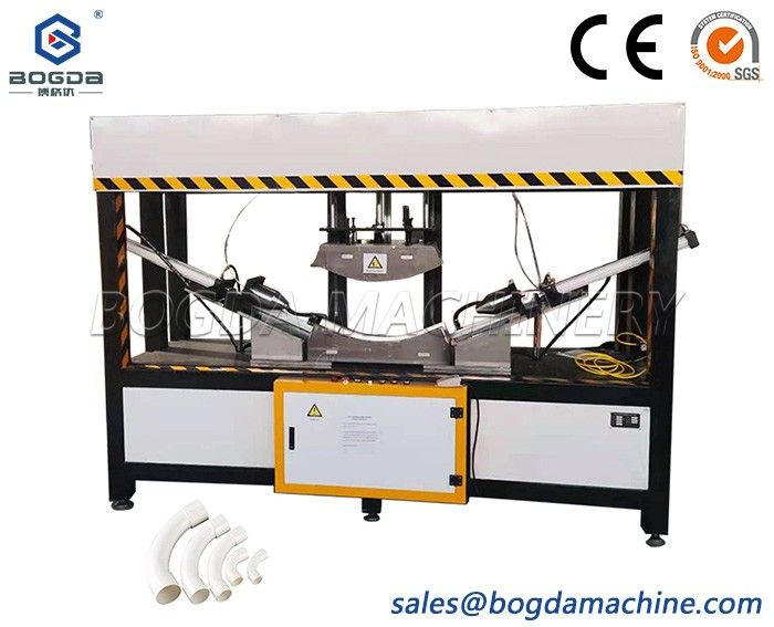 Fully Automatic Plastic PVC PE Pipe Bending Machine With Belling System