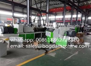 PVC Cable Trunking Profiles Punching Machine