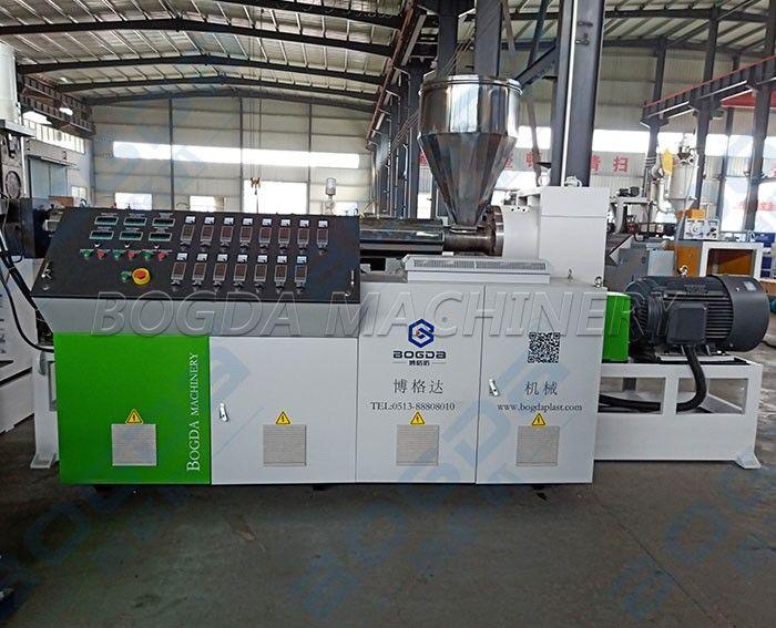 High Efficiency Waste Plastic Recycling Flakes Pelletizing Line