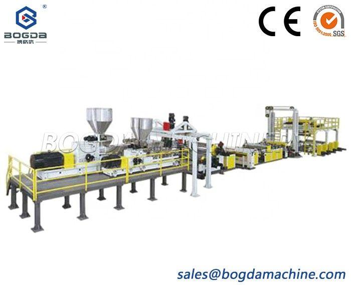 Plastic PC/PMMA Sheet Plate Making Machine Line