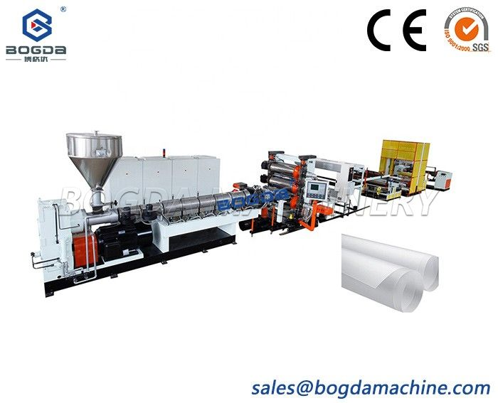 China Supplier Manufacture Single Screw PP Sheet Extrusion Machine Line