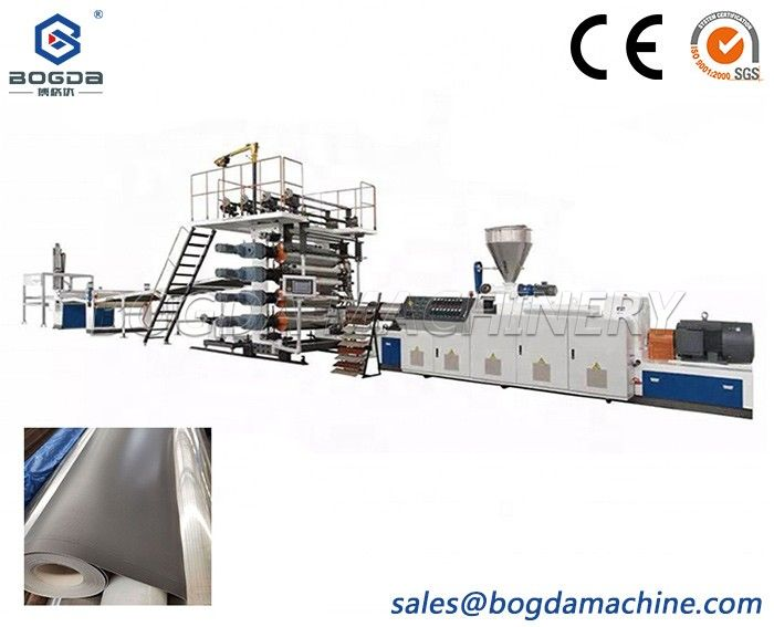 HDPE PP Waterstop Drainage Sheet Production Making Machine Line