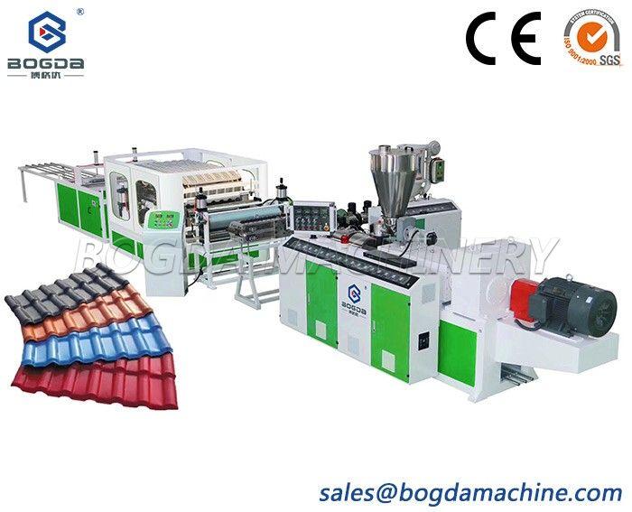 PVC roof sheet extrusion machine PVC plastic roof tile production line