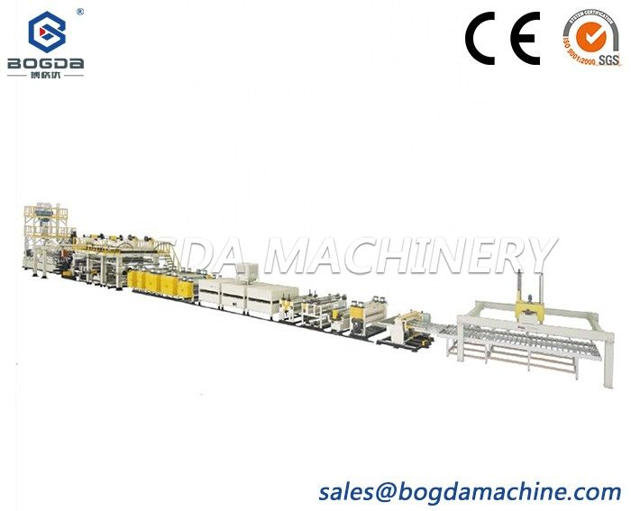 High speed Aluminum plastic composite panel making machine PE extrusion line
