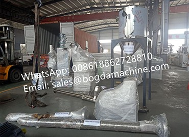 BOGDA HDPE Recycling Granules Pelletizing Line Granulating Machine