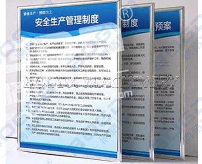 PVC Free Foaming Sheet Making machinery For Advertising Display Board Mounted Drawing Board Silk Screen Engraving Use