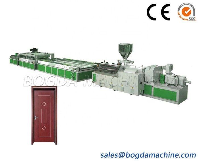 SJSZ80/156 PVC/WPC Foam Door Board Production Machine Wood Plastic Composite Door Panel Extrusion Line