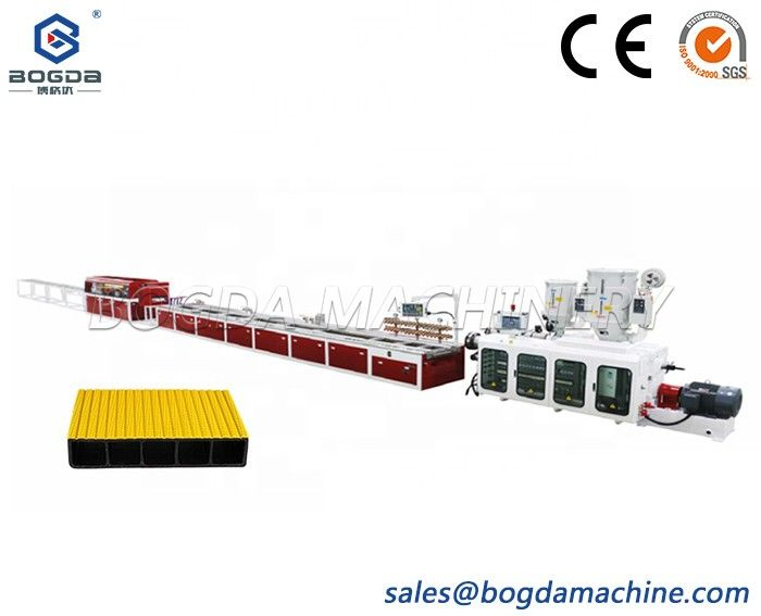 Attractive Price New Type HDPE PE Hollow Board Extrusion Machine Line