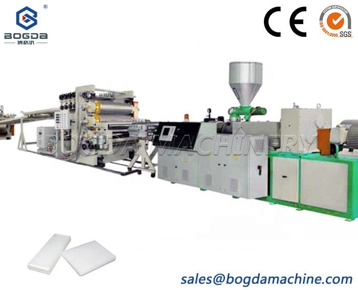 PP/PE/PVC/ABS Thick Sheet/Board Extrusion Equipment With Competive Price