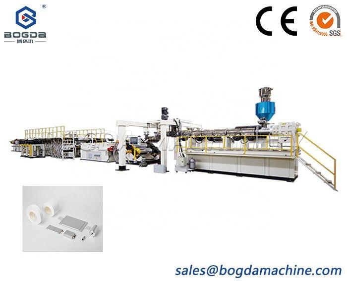 Plastic PE Lithium Electric Stretch Film Making Machine Production Line