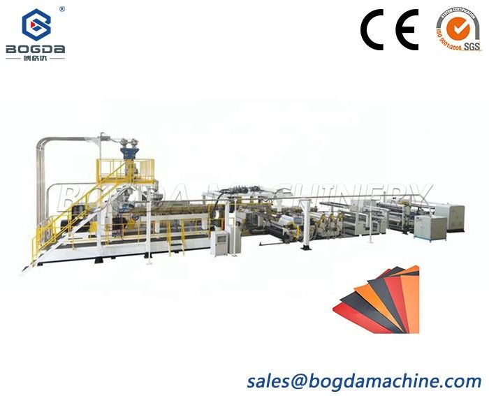 ASA Resin Roof Tile Building Material Coating Film Extrusion Machine Production Line