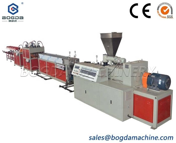 High speed PVC pipe making machine dual PVC pipe extrusion line