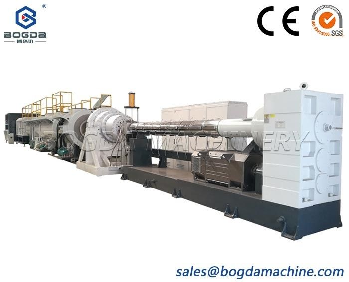 Stable production Large Diameter HDPE Pipe Production Line With Factory Price