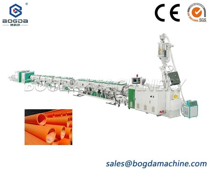 Trenchless MPP Electric Power Cable Protection Pipeline Piping Making Machine Plastic PP PE Pipe Extrusion Production Line