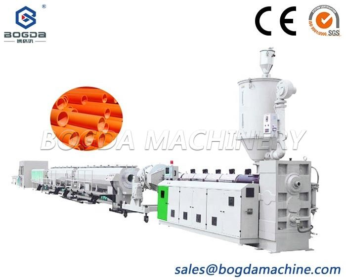 Plastic MPP Power Cable Protection Pipe Extrusion Machine Production Line